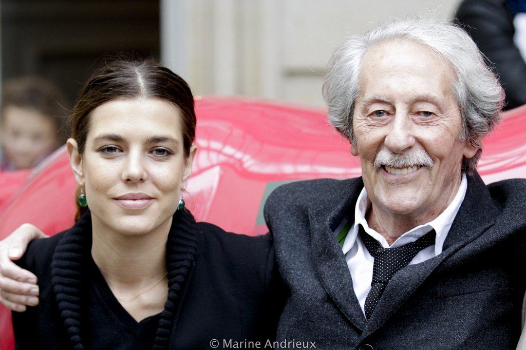 News - Charlotte Casiraghi - Jean Rochefort