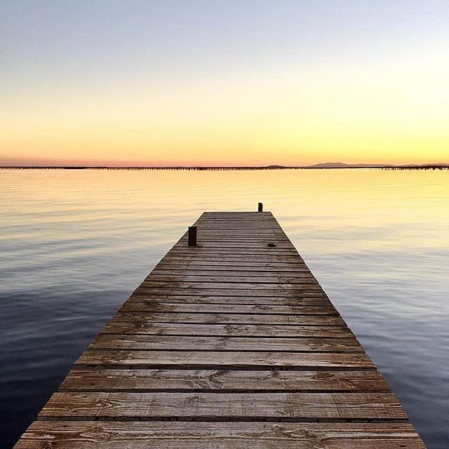 Sunset #etangdethau