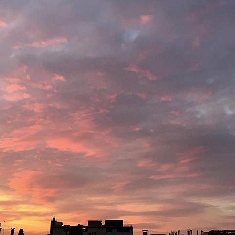 Tonight sky #paris #sky