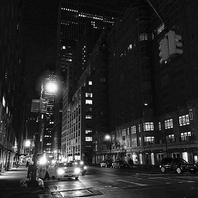 New York street #newyork #street #blackandwhite