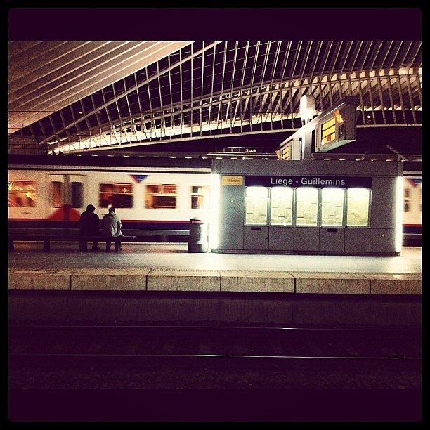 Gare Liège Guillemins #belgique #liege