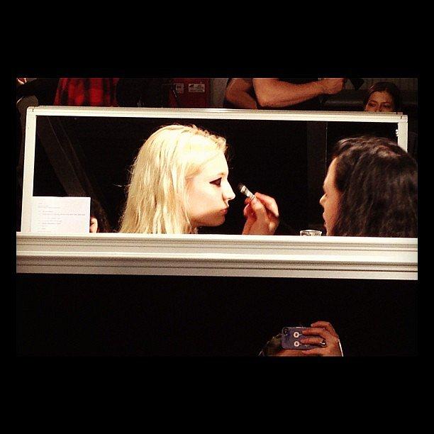 Makeup at Lanvin #pfw